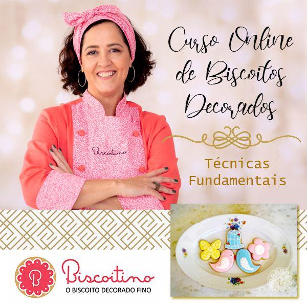 Imagem principal do produto Biscoito Decorado - Técnicas fundamentais
