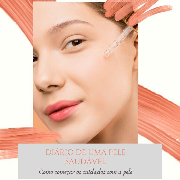 Imagem principal do produto Diário de uma pele saudável - Como começar a cuidar da pele