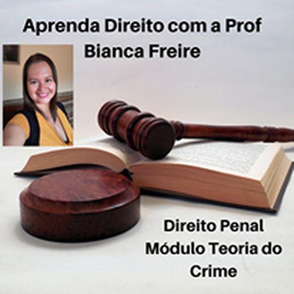 Imagem principal do produto Módulo Teoria do Crime com a Prof Bianca Freire