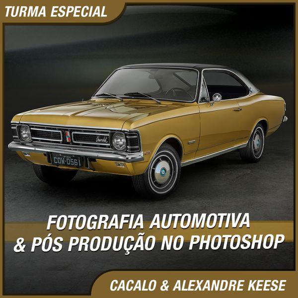 Imagem principal do produto Fotografia automotiva e pós-produção no Photoshop