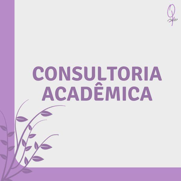 Imagem principal do produto Consultoria Acadêmica