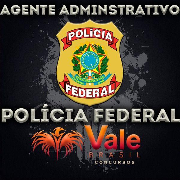 Imagem principal do produto Curso Agente Administrativo Polícia Federal