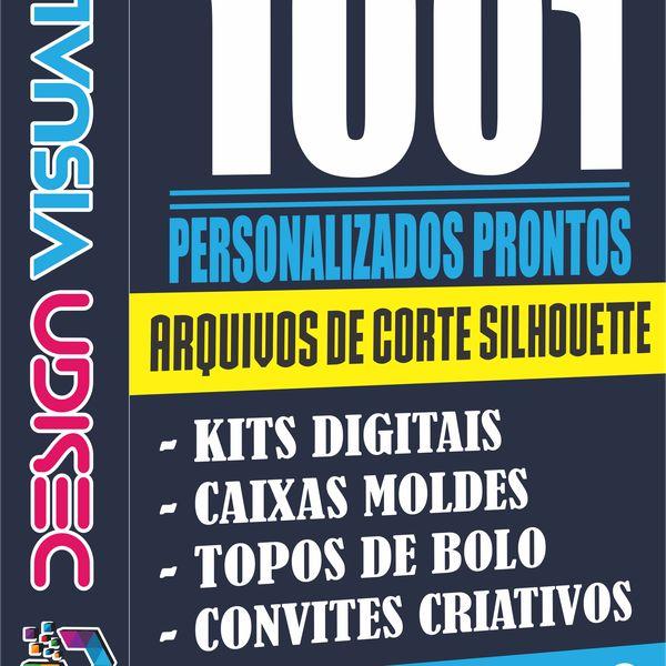 Imagem principal do produto ARQUIVOS DE CORTES SILHOUETTE