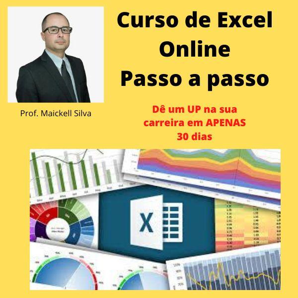Imagem principal do produto Curso de Excel passo a passo do ZERO