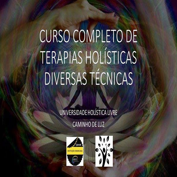 Imagem principal do produto CURSO DE TERAPEUTA HOLÍSTICO E INTEGRATIVO