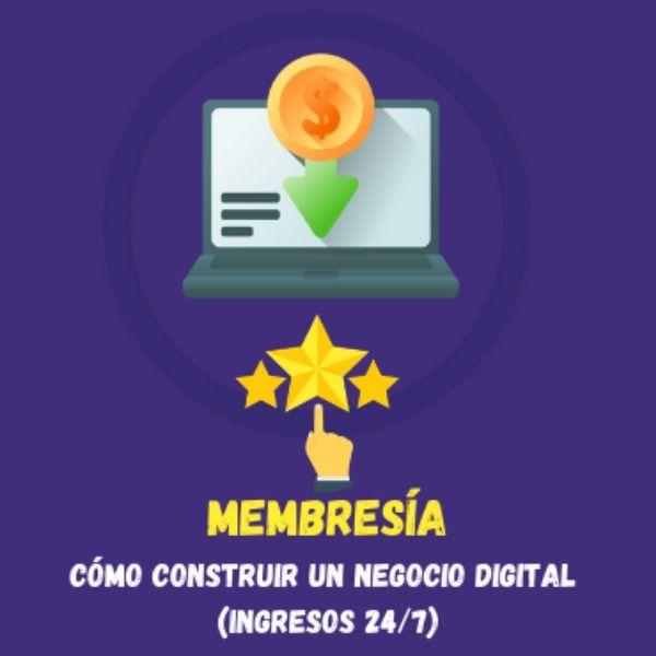 Imagem principal do produto Cómo construir un negocio digital (ingresos 24/7)