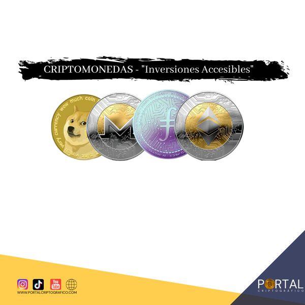 Imagem principal do produto CRIPTOMONEDAS - Inversiones Accesibles