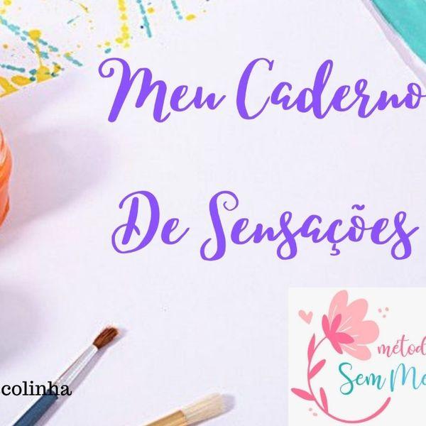 Imagem principal do produto Caderno Sensações + Caderno Recordação Berçários - MSE