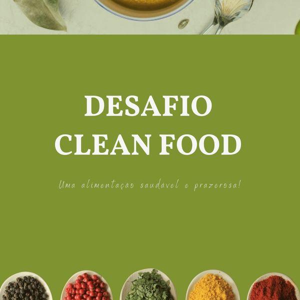 Imagem principal do produto DESAFIO CLEAN FOOD