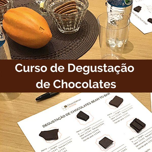 Imagem principal do produto Curso de Degustação de Chocolates Finos