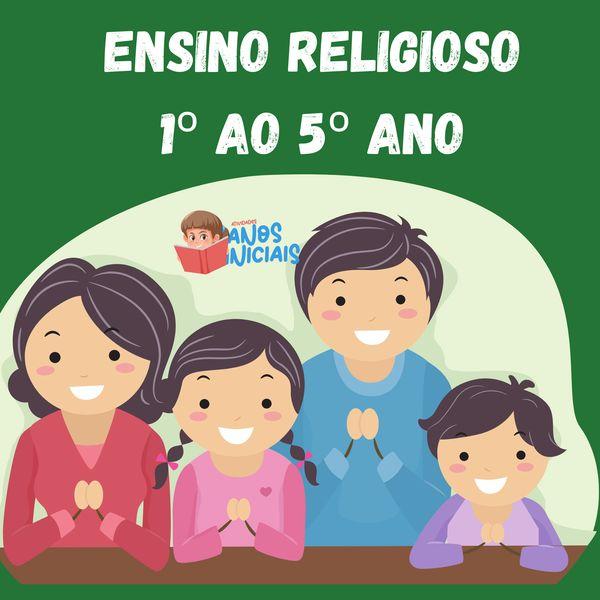 Imagem principal do produto Ensino Religioso 1º ao 5º Ano - Com Códigos