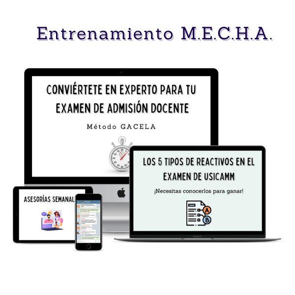 Imagem principal do produto Entrenamiento M.E.C.H.A.
