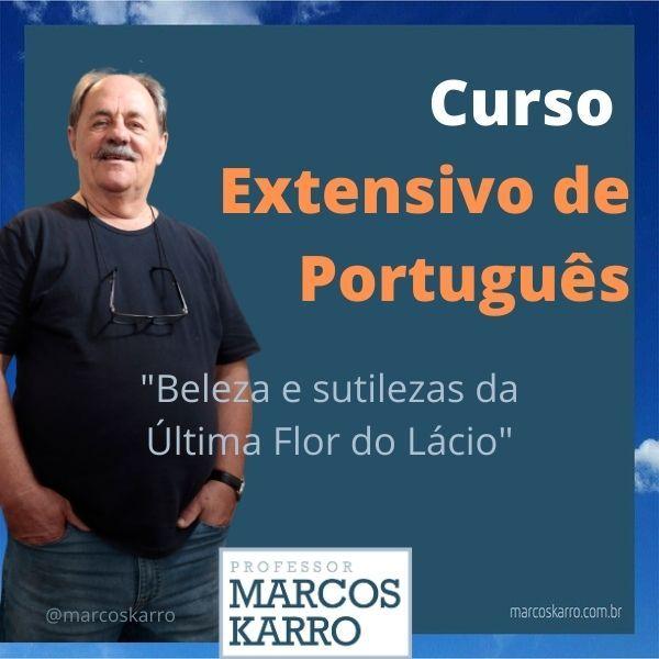 Imagem principal do produto Curso Extensivo de Português