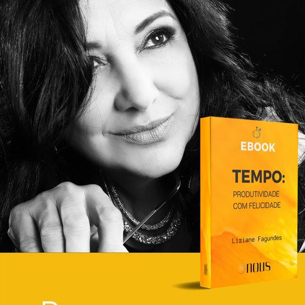 Imagem principal do produto Ebook TEMPO: PRODUTIVIDADE COM FELICIDADE
