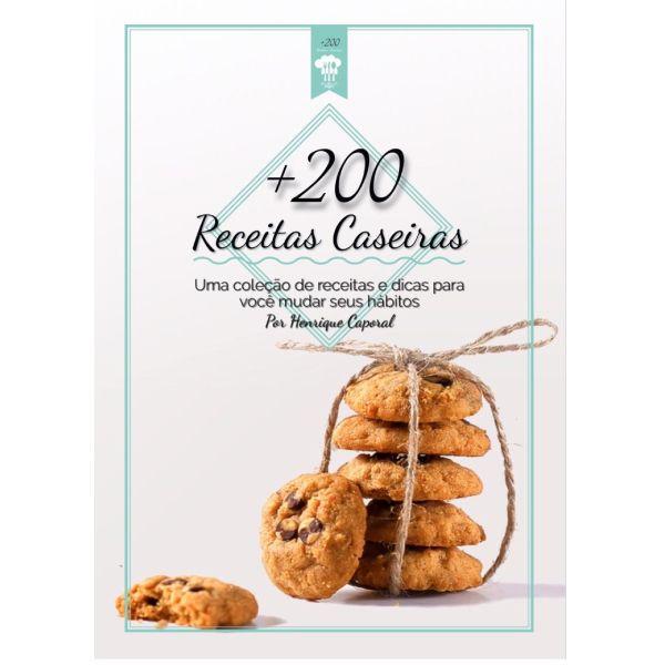 Imagem principal do produto 200 receitas fit e dicas para você mudar seus hábitos