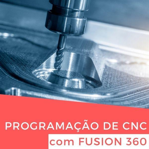 Imagem principal do produto Programação de CNC com Fusion 360