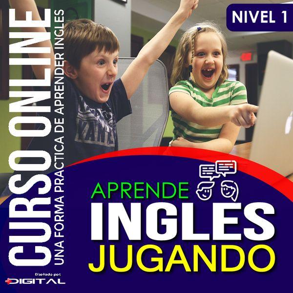 Imagem principal do produto Aprende Inglés Jugando Nivel 1