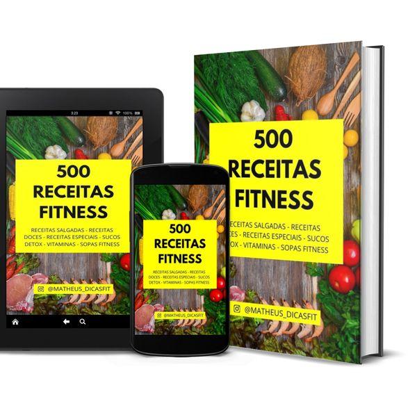 Imagem principal do produto 500 RECEITAS FITNESS