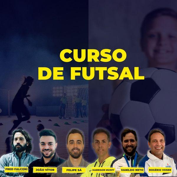 Imagem principal do produto CURSO DE FUTSAL: ENSINO E TREINAMENTO NAS CATEGORIAS DE BASE