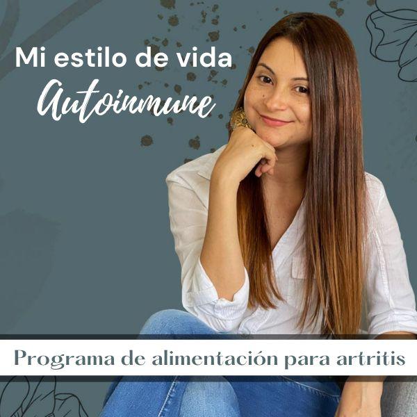 Imagem principal do produto Mi estilo de vida autoinmune - Programa de alimentación para artritis