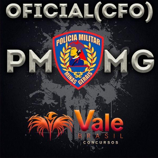 Imagem principal do produto Curso Oficial (CFO) da Polícia Militar de Minas Gerais - PMMG 🔺👮♂️🦅