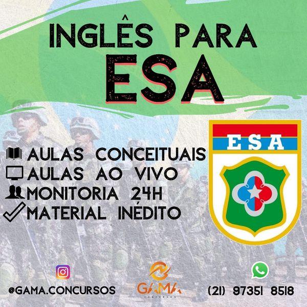 Imagem principal do produto Inglês para EsSA