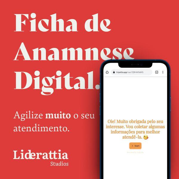 Imagem principal do produto Ficha de Anamnese Online para Esteticistas