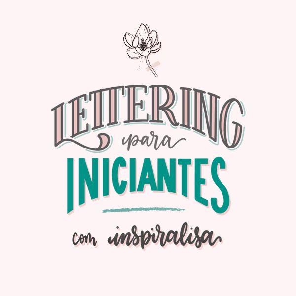 Imagem principal do produto Curso de Lettering para Iniciantes