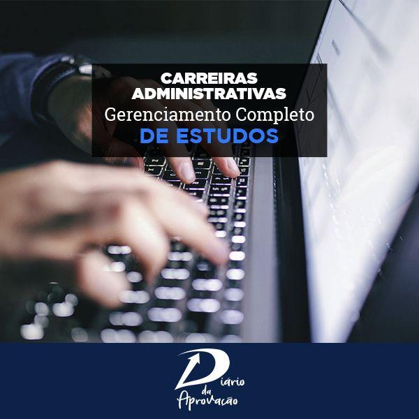 Imagem principal do produto Diário da Aprovação - CARREIRAS ADMINISTRATIVAS