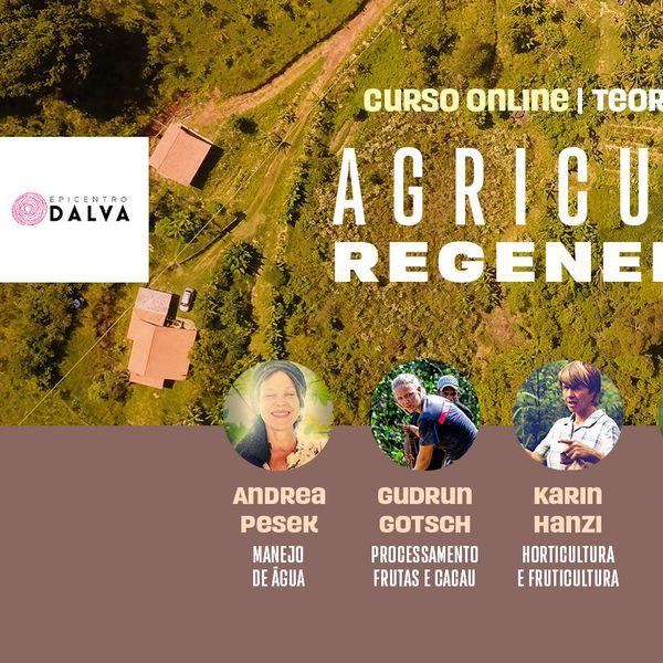 Imagem principal do produto Agricultura Regenerativa, curso online