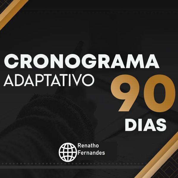 Imagem principal do produto Cronograma 90 dias OAB