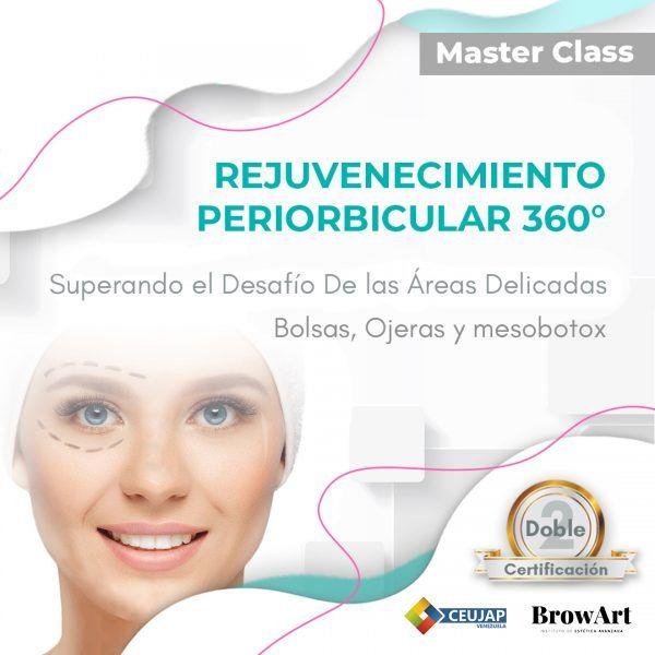 Imagem principal do produto Curso de Rejuvenecimiento periorbicular 360°