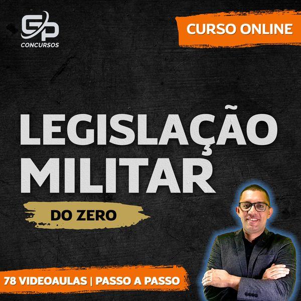 Imagem principal do produto Legislação Militar do Zero para PMCE   GP CONCURSOS