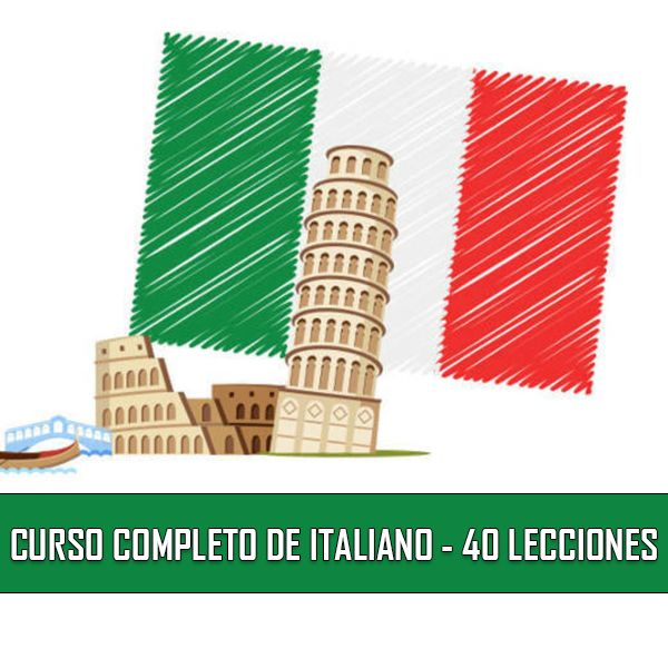 Imagem principal do produto CURSO COMPLETO DE ITALIANO - 40 LECCIONES