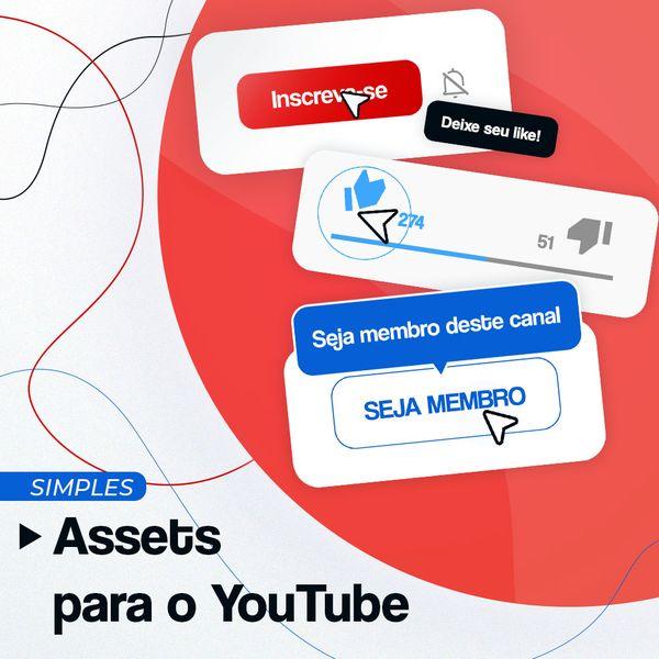 Imagem principal do produto Animação para o YouTube (Simples)
