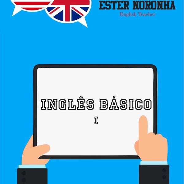Imagem principal do produto E-book Inglês Básico 1 - 10 aulas