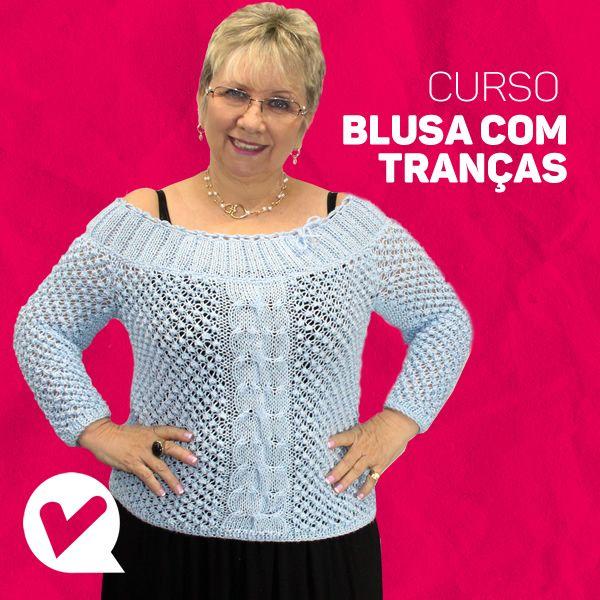 Imagem principal do produto Curso Blusa com Trança