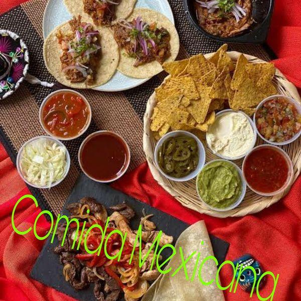Imagem principal do produto Recetas de comida mexicana