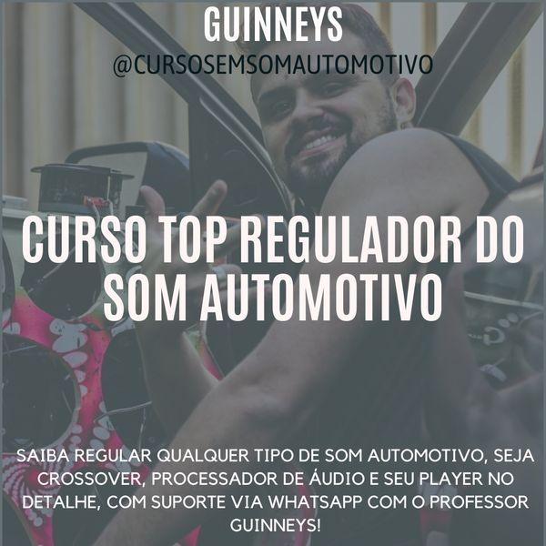 Imagem principal do produto CURSO TOP REGULADOR DO SOM AUTOMOTIVO - DE R$: 497,00 POR APENAS R$: 97,00 😍