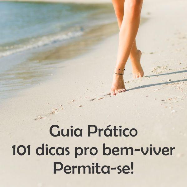 Imagem principal do produto Guia Prático 101 dicas pro bem-viver Permita-se!