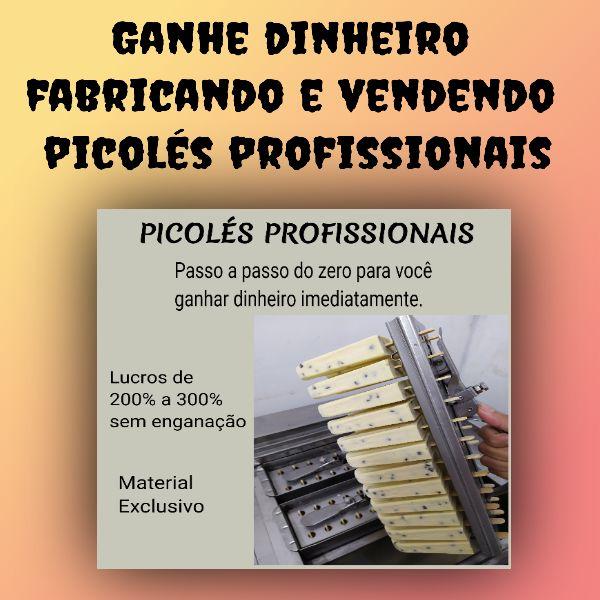 Imagem principal do produto Fabricação Profissional de Picolés