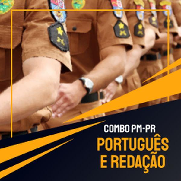 Imagem principal do produto Combo PMPR - Português e Redação