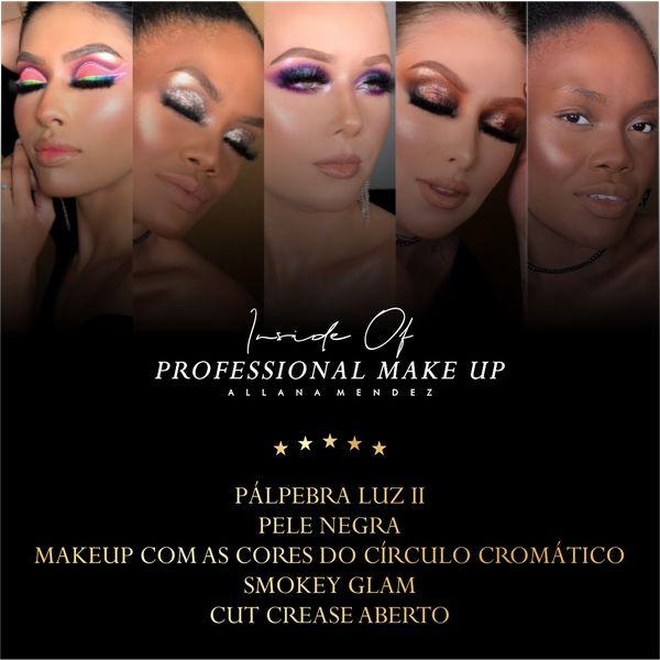 Imagem principal do produto Inside Of Professional Make Up (Combo 2) - 5 Técnicas Profissionais