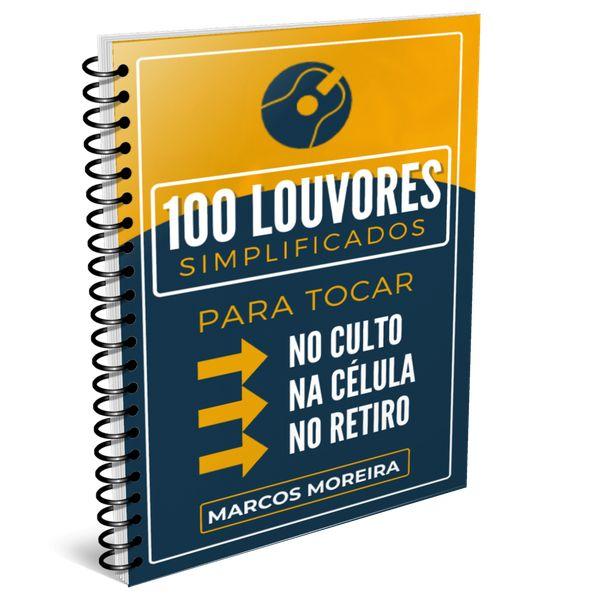 Imagem principal do produto 100 CIFRAS SIMPLIFICADAS DE LOUVORES
