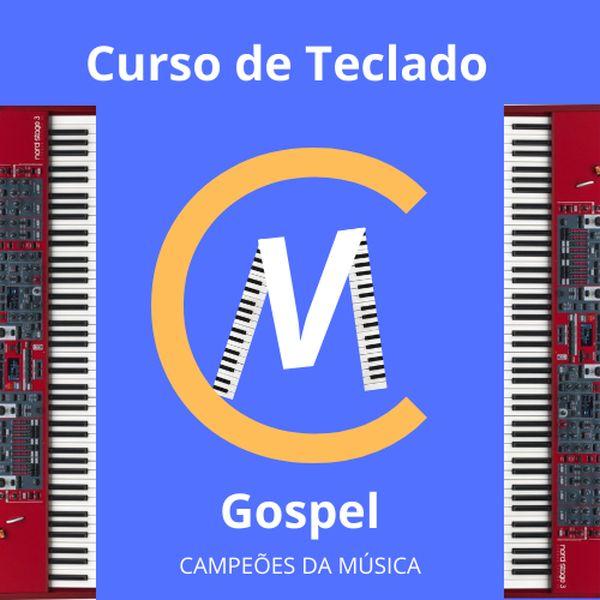 Imagem principal do produto Curso de Teclado Gospel -  Campeões da Música