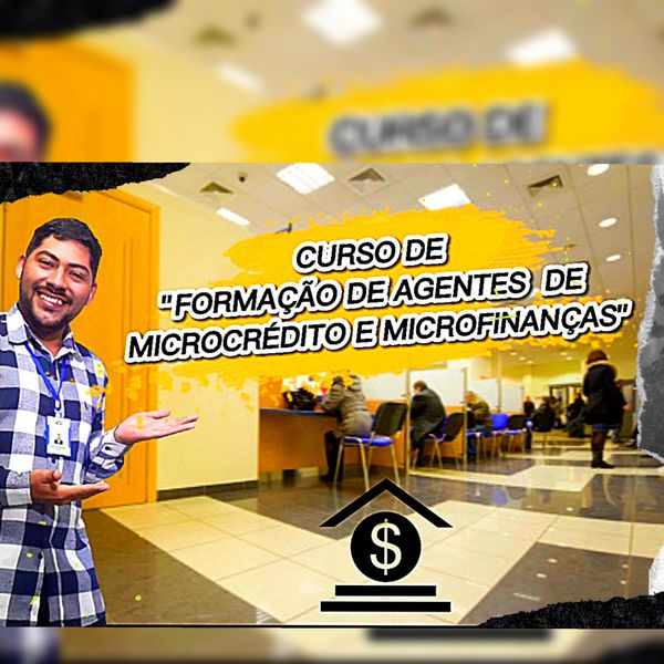 Imagem principal do produto FORMAÇÃO DE ESPECIALISTA  EM MICROCRÉDITO E MICROFINANÇAS