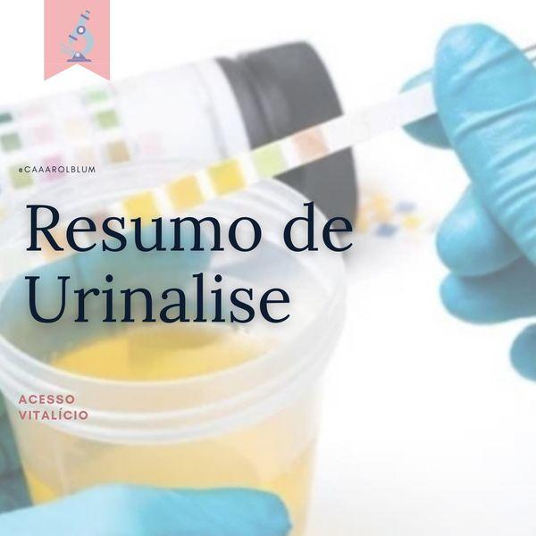 Imagem principal do produto Resumo de Urinalise