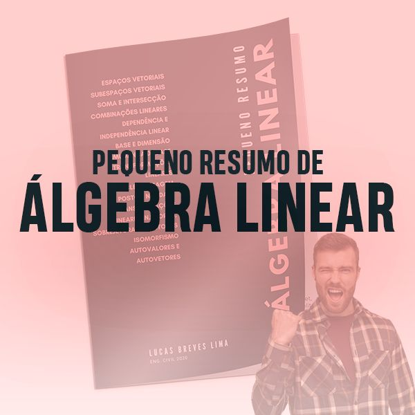 Imagem principal do produto Pequeno Resumo de Ágebra Linear