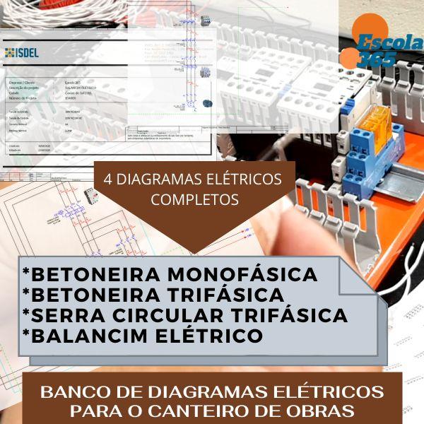 Imagem principal do produto BANCO DE DIAGRAMAS ELÉTRICOS PARA O CANTEIRO DE OBRAS