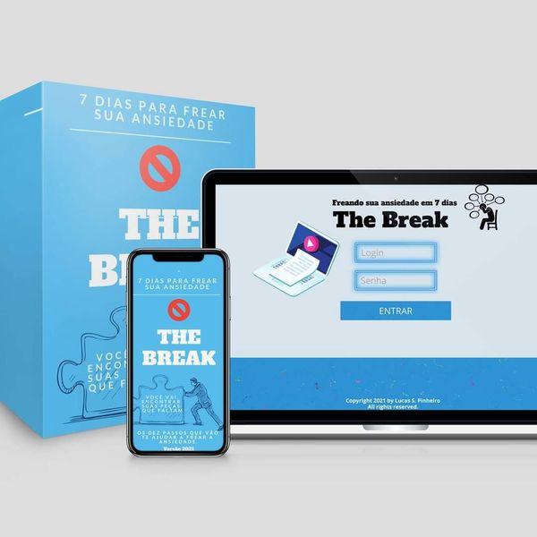 Imagem principal do produto Freando sua ansiedade em 7 dias - The Break